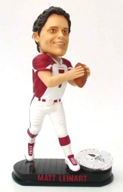 Arizona Cardinals Matt Leinart Black Base Edition Bobble Head