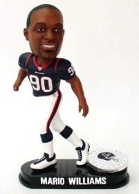 Houston Texans Mario Williams Black Base Edition Bobble Head