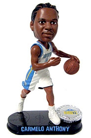 Denver Nuggets Carmelo Anthony Blatinum Bobble Head