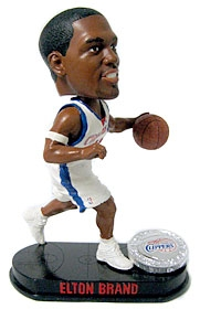 Los Angeles Clippers Elton Brand Blatinum Bobble Head