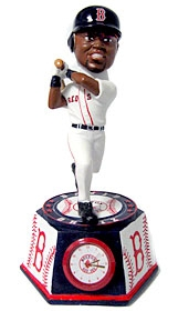 Boston Red Sox David Ortiz Bobble Head Clock