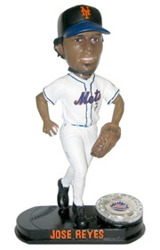 New York Mets Jose Reyes Blatinum Bobble Head