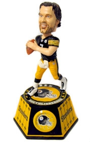 Pittsburgh Steelers Ben Roethlisberger Bobble Head Clock