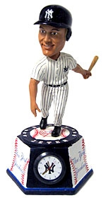 New York Yankees Derek Jeter Bobble Head Clock