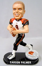 Cincinnati Bengals Carson Palmer Black Base Edition Bobble Head