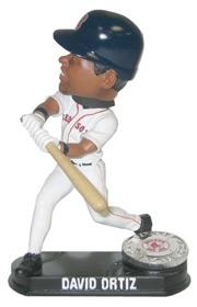 Boston Red Sox David Ortiz Blatinum Bobble Head