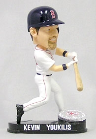 Boston Red Sox Kevin Youkilis Blatinum Bobble Head