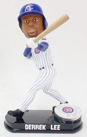 Chicago Cubs Derrek Lee Blatinum Bobble Head