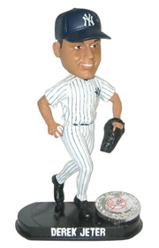 New York Yankees Derek Jeter Blatinum Bobble Head (Home)