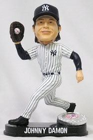 New York Yankees Johnny Damon Blatinum Bobble Head