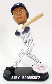 New York Yankees Alex Rodriguez Blatinum Bobble Head