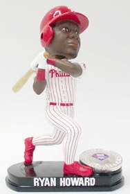 Philadelphia Phillies Ryan Howard Blatinum Bobble Head