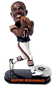 Chicago Bears Mussin Muhammad Black Base Edition Bobble Head