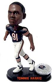 Chicago Bears Tommie Harris Black Base Edition Bobble Head