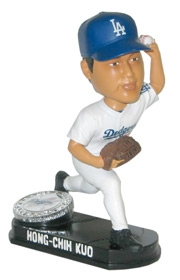 Los Angeles Dodgers Hong-Chih Kuo Blatinum Bobble Head