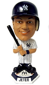 New York Yankees Derek Jeter Knucklehead Style Bobble Head