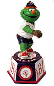 """Boston Red Sox """"Wally"""" Bobble Head Clock"""