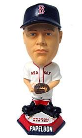 Boston Red Sox Jonathan Papelbon Knucklehead Style Bobble Head