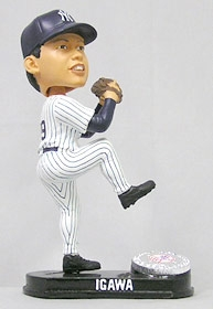 New York Yankees Kei Igawa Blatinum Bobble Head (Home)