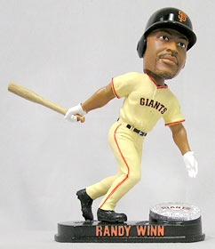 San Francisco Giants Randy Winn Blatinum Bobble Head