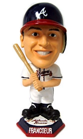 Atlanta Braves Jeff Francoeur Knucklehead Style Bobble Head