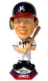 Atlanta Braves Chipper Jones Knucklehead Style Bobble Head