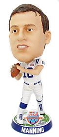 Indianapolis Colts Peyton Manning Super Bowl 41 Champion Bobble Head