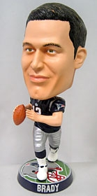 New England Patriots Tom Brady Phathead Bobble Head
