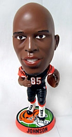 Cincinnati Bengals Chad Johnson Phathead Bobble Head