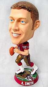 San Francisco 49ers Alex Smith Phathead Bobble Head