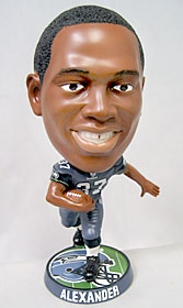 Seattle Seahawks Shaun Alexander Phathead Bobble Head