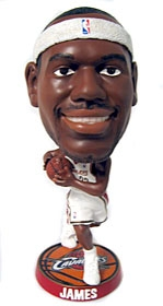 Cleveland Cavaliers LeBron James Phathead Bobble Head