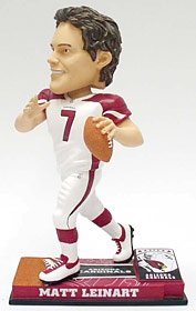 Arizona Cardinals Matt Leinart On Field Bobble Head