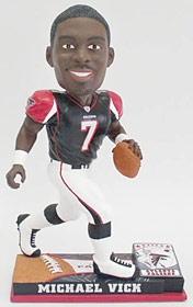 Atlanta Falcons Michael Vick On Field Bobble Head