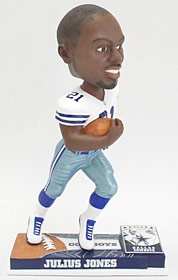 Dallas Cowboys Julius Jones On Field Bobble Head