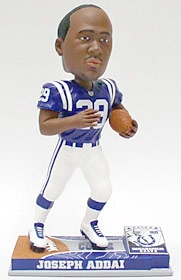 Indianapolis Colts Joseph Addai On Field Bobble Head