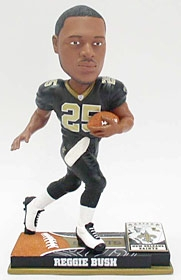 New Orleans Saints Reggie Bush On Field Bobble Head