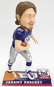 New York Giants Jeremy Shockey On Field Bobble Head