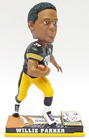 Pittsburgh Steelers Willie Parker On Field Bobble Head