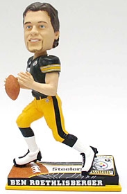 Pittsburgh Steelers Ben Roethlisberger On Field Bobble Head