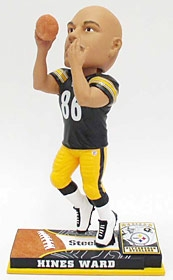 Pittsburgh Steelers Hines Ward On Field Bobble Head
