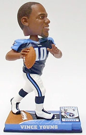 Tennessee Titans Vince Young On Field Bobble Head