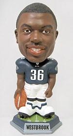 Philadelphia Eagles Brian Westbrook Knucklehead Bobble Head
