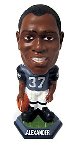 Seattle Seahawks Shaun Alexander Knucklehead Bobble Head