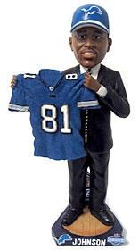 Detroit Lions Calvin Johnson 2007 Draft Pick Bobble Head