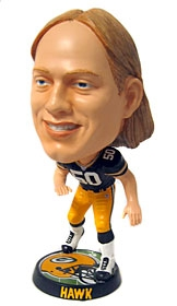 Green Bay Packers A. J. Hawk Phathead Bobble Head