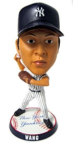 "New York Yankees Chien-Ming Wang 9.5"" Super Bighead Bobble Head"