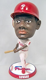"Philadelphia Phillies Ryan Howard 9.5"" Super Bighead Bobble Head"