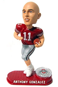 Ohio State Buckeyes Alex Gonzalez Red Platiunum Bobble Head