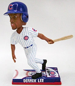 Chicago Cubs Derrek Lee On Field Bobble Head